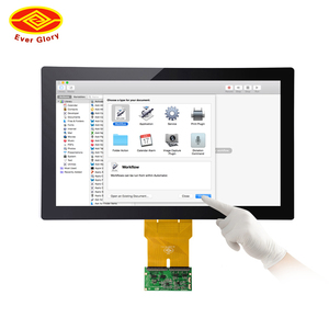 Large industrial pc hmi led touch screen panel plc for panel pc computer pos