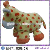plush toy cow for baby