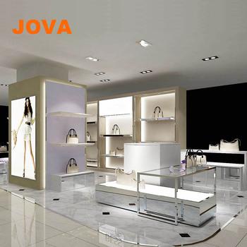 Wooden Hanging Bags Stand Cabinet For Handbag Shop Design Buy