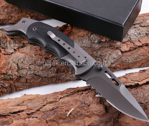 OEM folding rescue pocket tactical knife with G10 handle