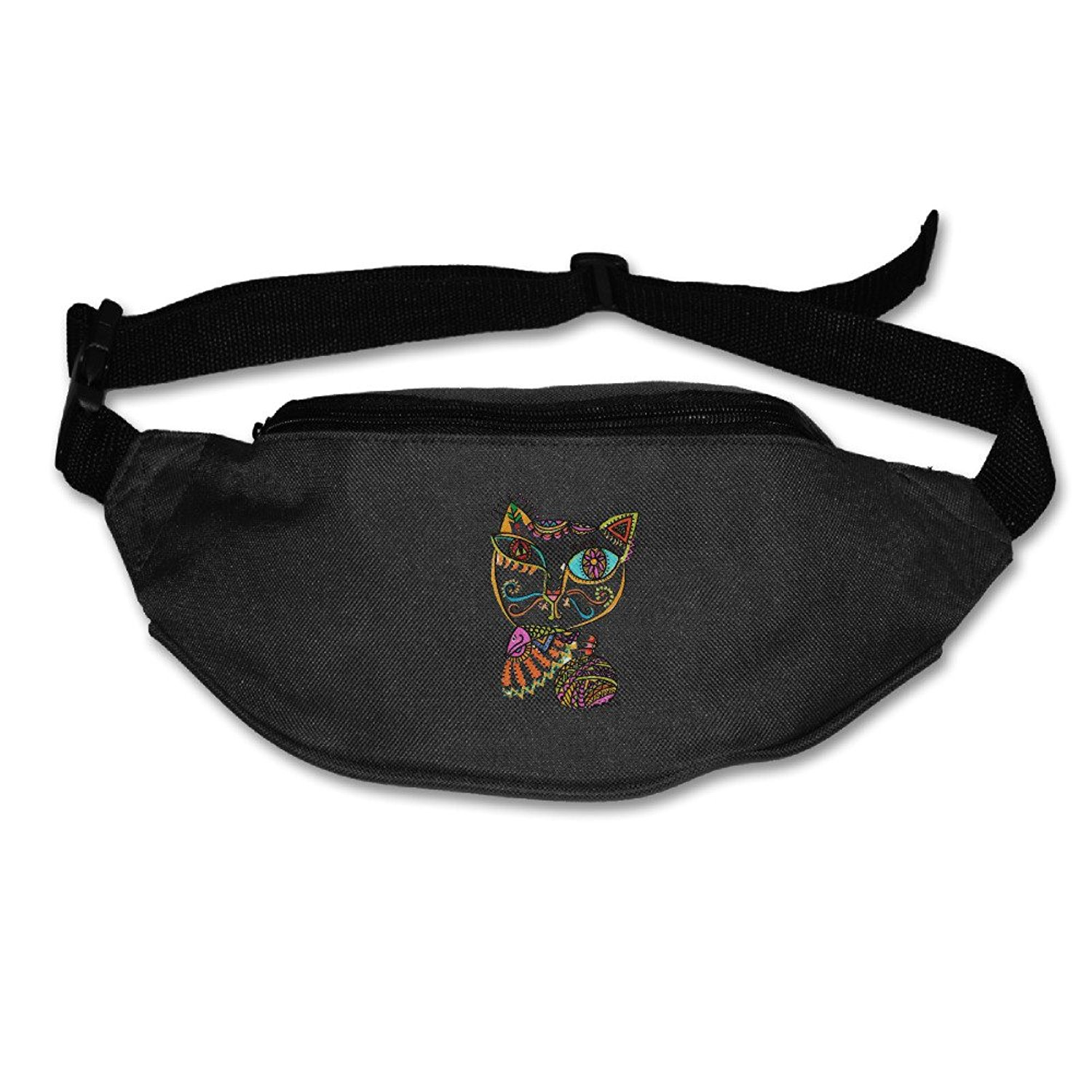 Africa Tiger Head Sport Waist Pack Fanny Pack Adjustable For Run