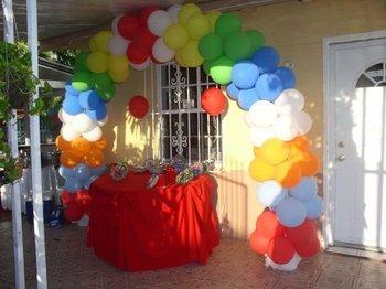 Balloon Arch For Birthday Decoration