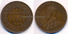 Old Coin of 1928 India issued by George V King Empror