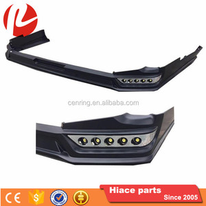 hiace front bumper LED bumper lip for hiace 2014-16 narrow body 1695