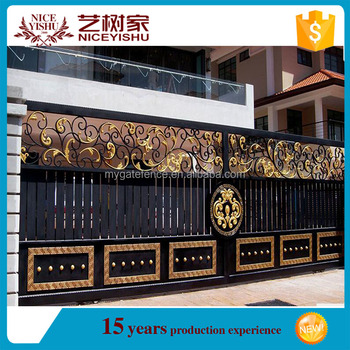 Indian house main gate designs sliding gate designs for - Sliding main gate design for home ...