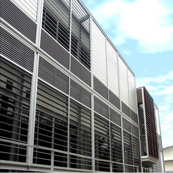 House Bathroom Sheet Metal Sun Shade Aluminum Window Louvers Prices