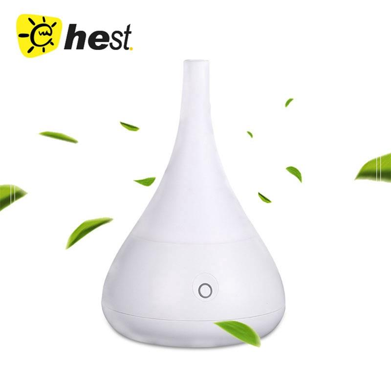 new indoor GLASS AROMISTER Ultrasonic Aromatherapy Humidifier, Aroma Nebulizing Diffuser w/ Lack-of-water Auto-Off-GH2119
