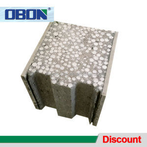 OBON fast building composite foam eps concrete block