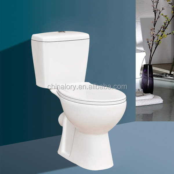 2015 High Quality Toilet Washdown Two Piece Toilet Bowl With Cheap Price For Sales