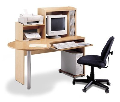 bestar compact bureau d 39 ordinateur tables en m tal id de produit 264156472. Black Bedroom Furniture Sets. Home Design Ideas