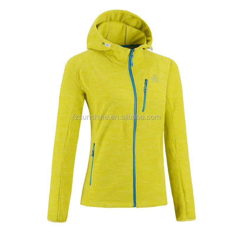 2016 NEW Women Fleece Jacket with hood