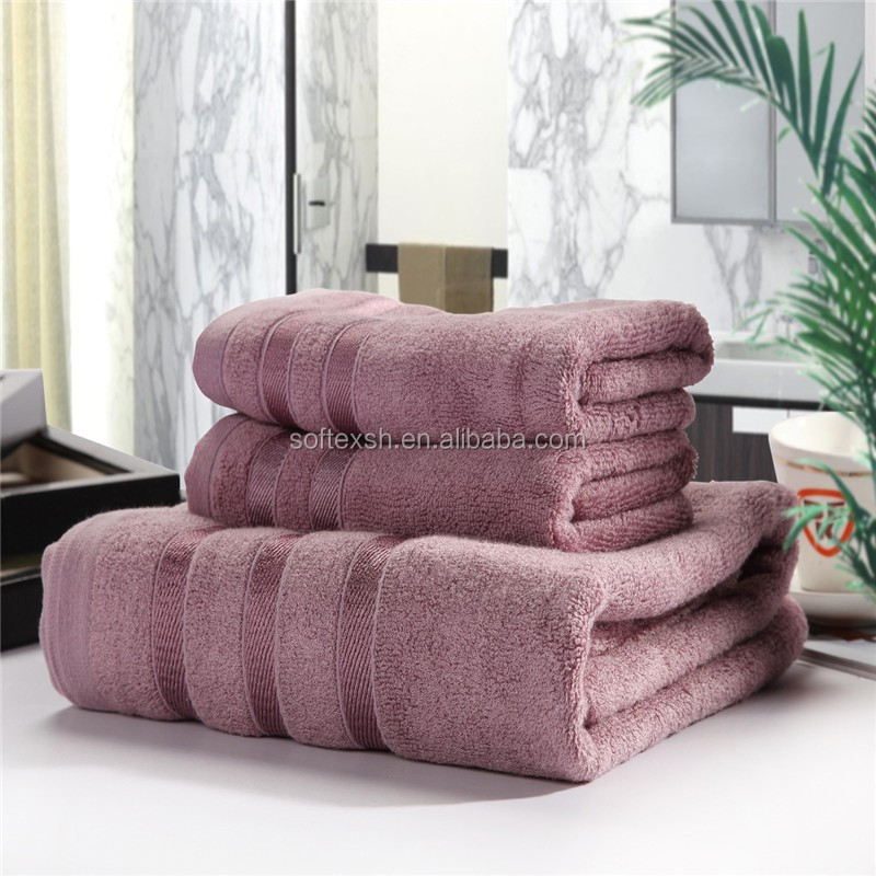 New brand customize logo 100% cotton hotel bath towel set,thick and good touch feeling