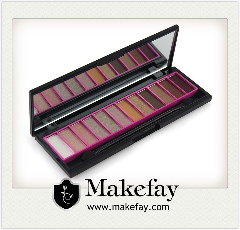 Newest 12 Color Makeup Eyeshadow Palette For Christmas Gifts Holiday Cosmetics