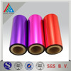Various size pink/red/purple coated metallized PET(polyster) Film