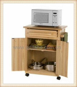 Schrankküche design  Mini Gummi Holz Schrank Küche Design,Holz Küche Mikrowelle Schrank ...