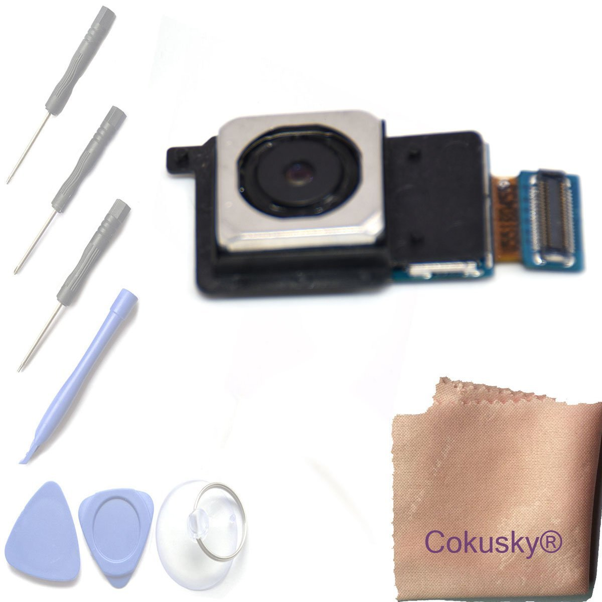 Cheap Nikon 18 105 Lens Flex Cable Find Flexy Flexyble Canon Aperture 55 Is Get Quotations Cokusky Main Rear Back Camera Repair For Samsung Galaxy S6 G920 G920a G920t