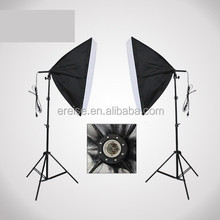 E-Reise Photo box Studio Equipment Softbox Continuous Light Kit Photo Studio Light Softbox Photo Shooting Kit