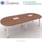 Modern office circular executive desks / office wooden table for manager