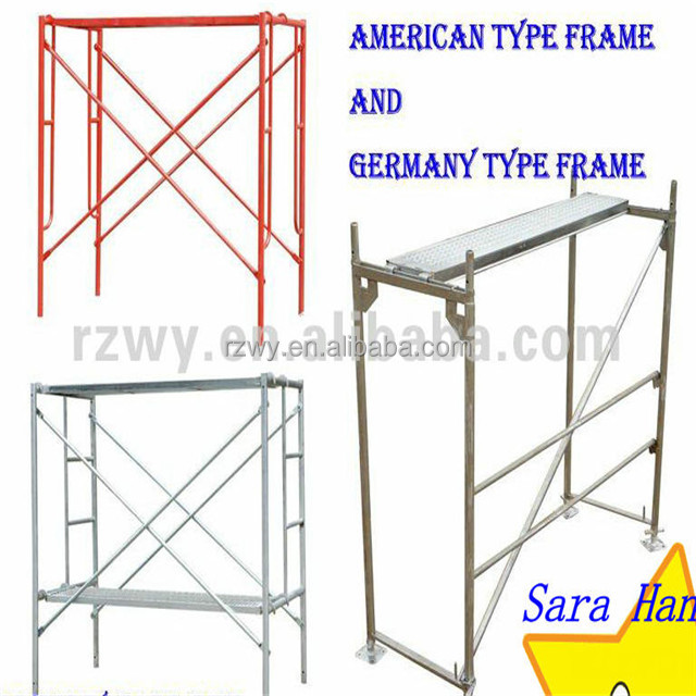 HIgh quality Standard Scaffolding A Frame System