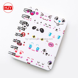 Coil the cartwheel creative thick notebook stationery notebook small and pure and fresh