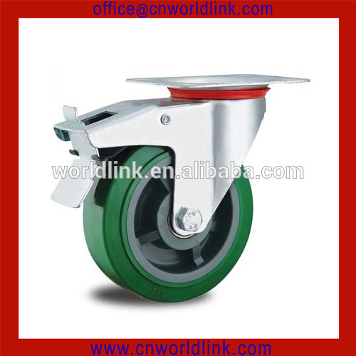 China supplier small rubber caster wheels