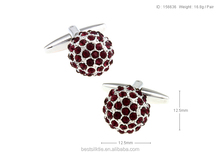 Traditionally delicate design mental manager accessties cufflinks