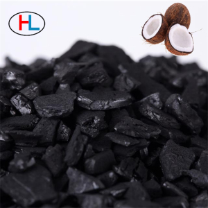 Spray booth coconut shell charcoal Paint odor adsorption hy702
