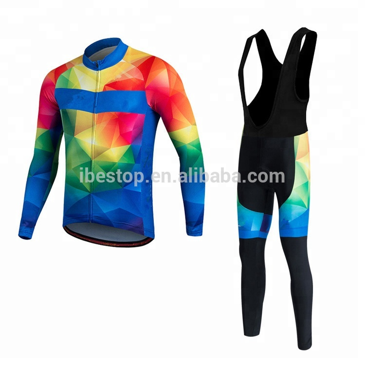 Custom OEM Sublimation Quick Dry Fit Breathable Bicycle Clothing Cycling Clothes Cycle Clothes Bike Clothing Wear Customized