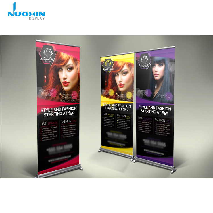 Economical Aluminium Frame Retractable Roll Up Banner For Barber Beauty Salon Buy Roll Up Banner Retractable Advertising Roll Up Banner Retractable Economical Roll Up Banner Retractable Product On Alibaba Com