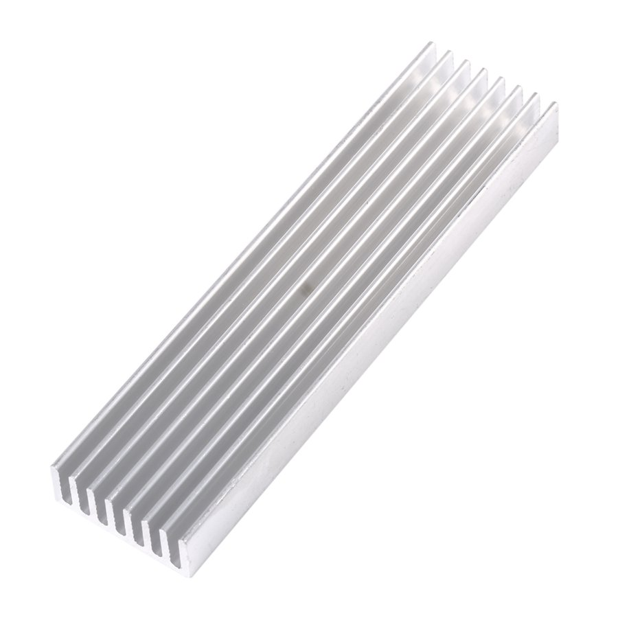 Cooling Fin For CPU LED Power 40mm x 40mm x 20m Radiator Aluminum Heatsink Extruded Profile