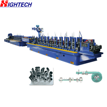 ZG76 welded pipe forming tube mill machine manufacturer for gavanlized steel ERW straight seam welded pipe making machine