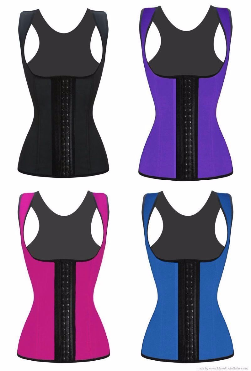 Latex taille trainer passen vrouwen body shaper miss riem