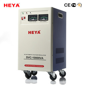 Vertical Type Full Automatic Servo Motor Control Svc 10Kva Single Phase Voltage Stabilizer For Home