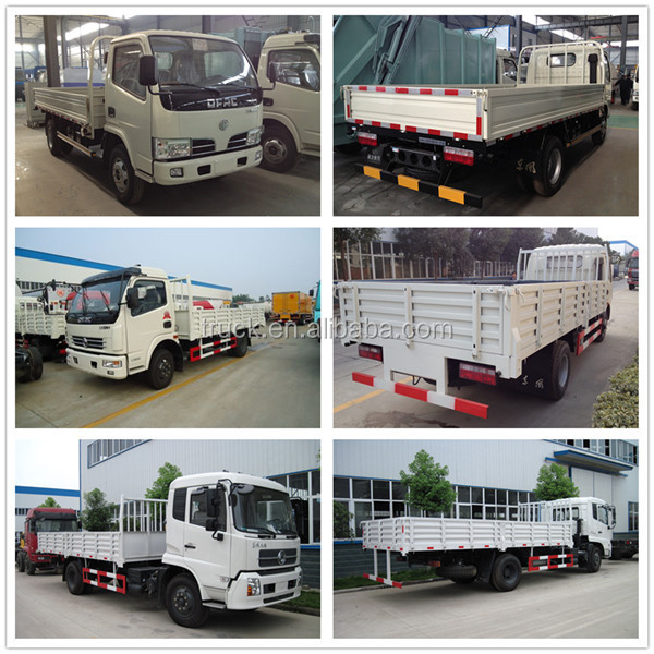 Dongfeng 5 Ton -7 Ton Cargo Truck Dimensions - Buy Cargo ...
