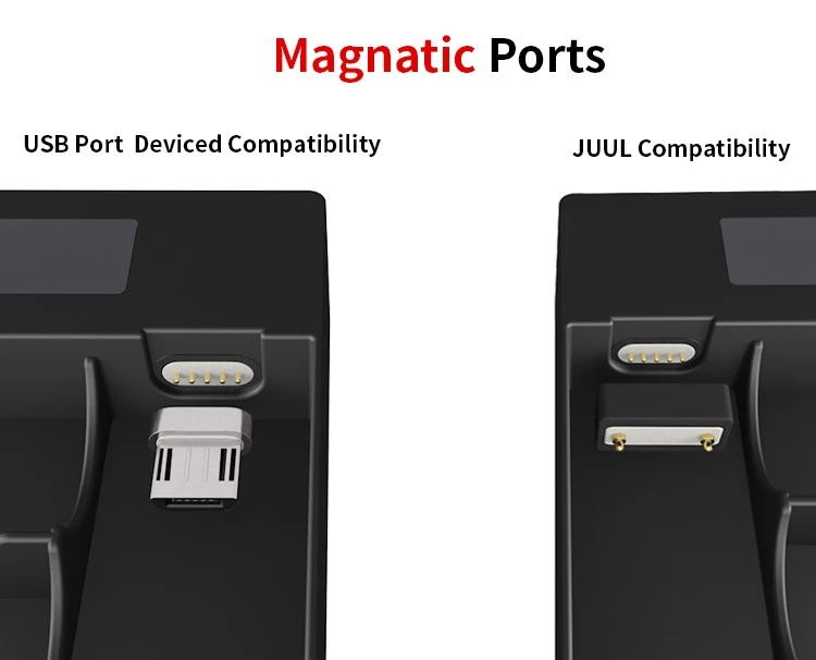 Mini Portable Juul Digital Charger Power Bank For Juul