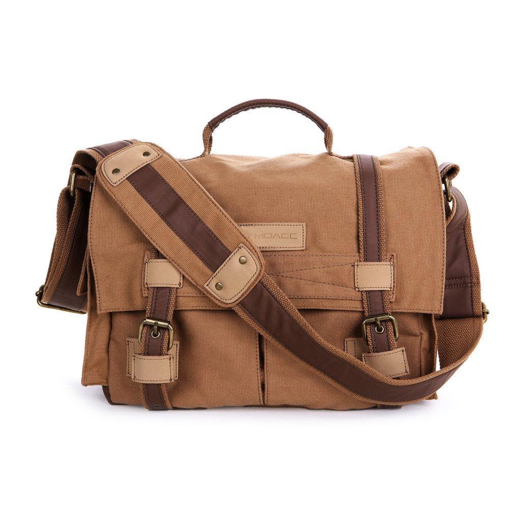 Dslr Slr Camera Bag Moacc Canvas Vintage Case Messenger Shoulder With Shockproof
