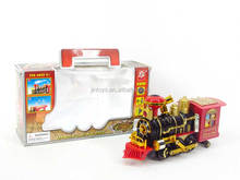 Children toys Musical steam toy train with light, battery operated steam locomotive for wholesale, AA017892