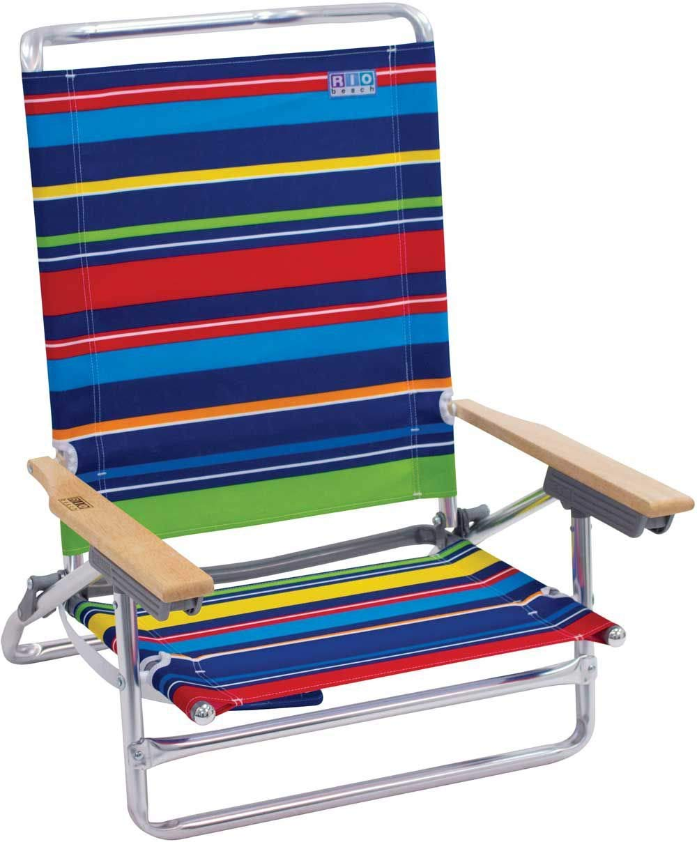 Get Quotations Rio 5 Position Beach Chair