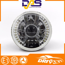 5 inches Projector lens led headlight with Amber SMD ring