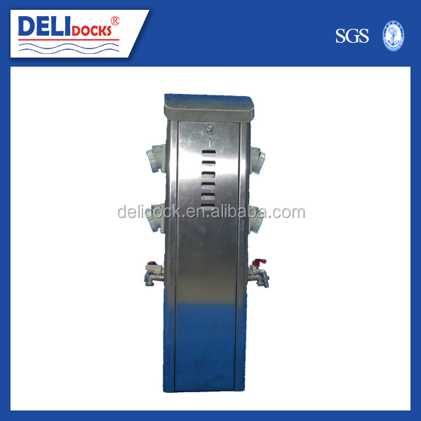Water power pedestal marine plug switch panel
