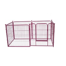 Welded dog kennel outdoor dog runs