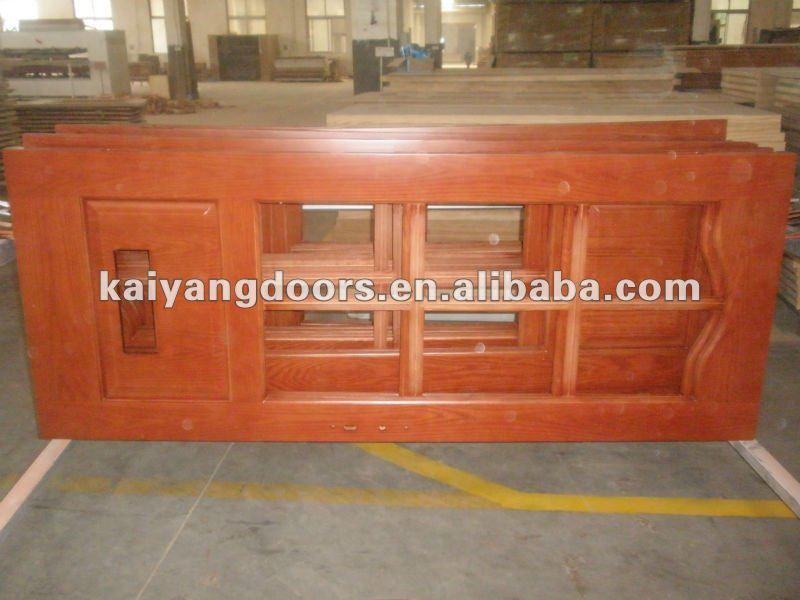 kaiyang saudi arabiauae interior hotel raised panel red oakteak wooden veneer painting