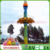 2018 Amusement park rides flying tower frog tower rides Jumping Circle for sale
