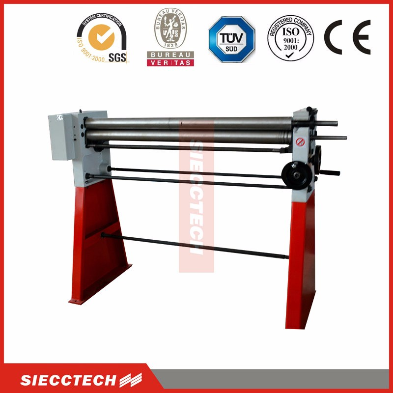 manual used plate rolling machine factory direct plate bending machine