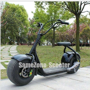 Chic 2wheel Battery Powered Chopper Smarter City E Scooter Halley City Coco Electric Scooter Made in China