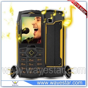 waterproof shockproof dustproof cell phone 2000mAh big battery long time standby