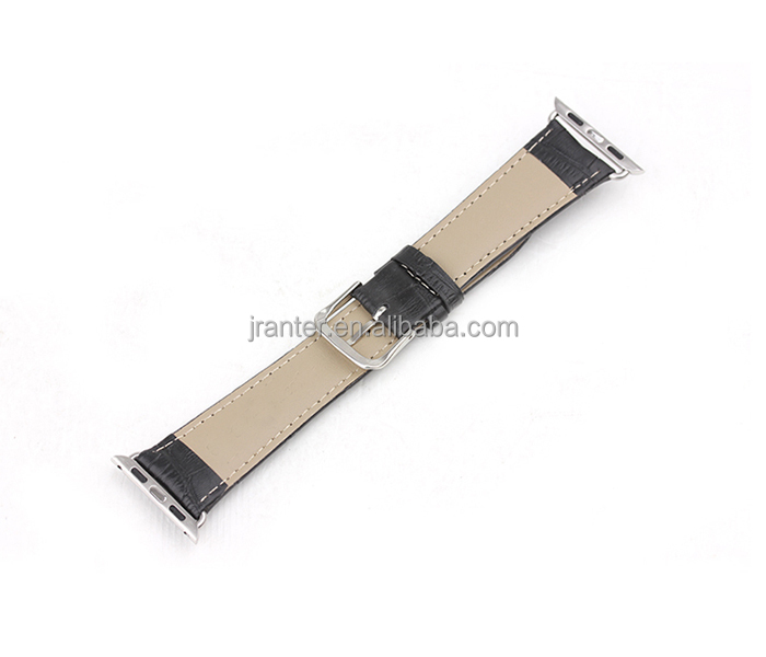 Luxury Exotic Leather Watch Band Genuine Leather Alligator Watch Band