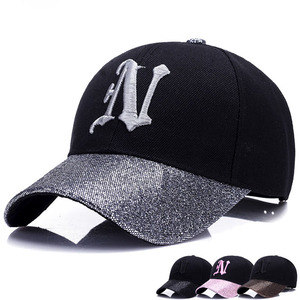 Wholesale High Quality 100% Cotton Baseball Cap Hat For Women Girls Cheap  Summer Street Unique Fashion Style Cap For Online Sale
