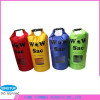 Colourful zhejiang jinhua outdoor equipment 20l waterproof dry bag with window