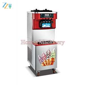 Professional Exporter of Mini Soft Ice Cream Machine / Israel Soft Ice Cream Machine With High Quality Compressor